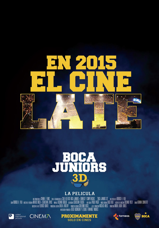 Gran estreno de Boca 3D, la película