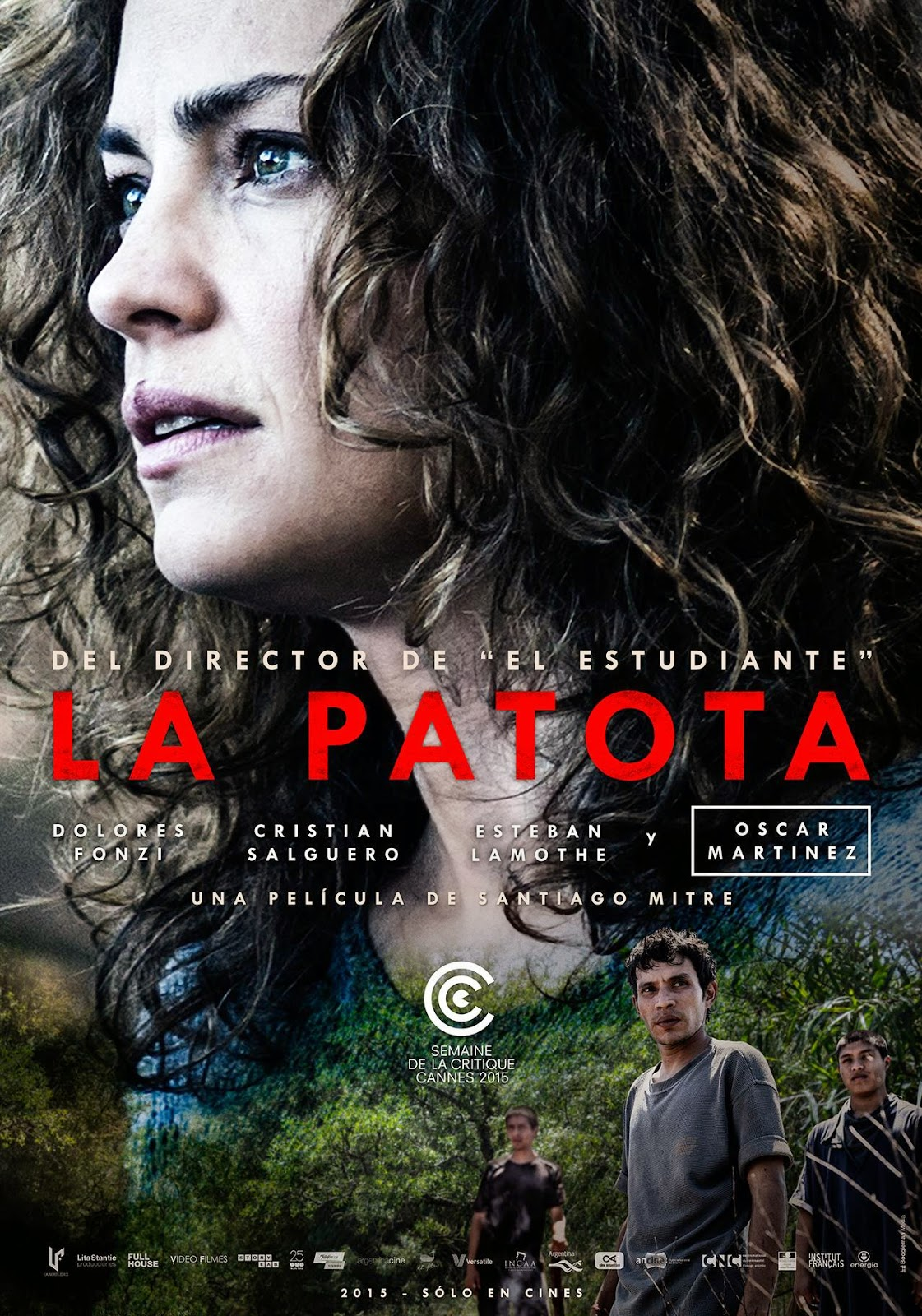 La Patota ganó el premio de la Semana de la Crítica del Festival de Cannes